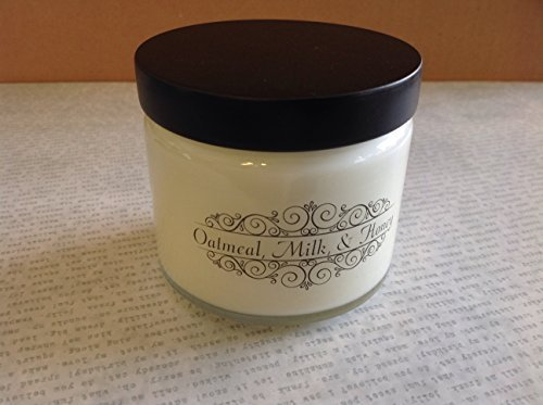 Milkhouse USA Made Candle Traveler 5.3 oz: Oatmeal, Milk & Honey [Kitchen]