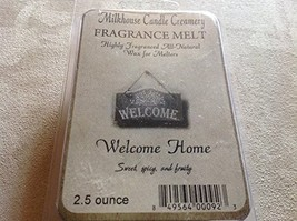 Milkhouse Candle Creamery Soy Beeswax Scented 2.5 Oz. Fragrance Melt (Welcome...