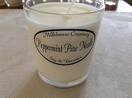 Milkhouse Candle Butter Shot Votive: Peppermint Pine Needle [Kitchen]