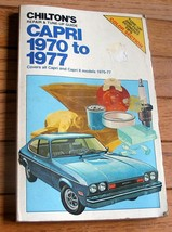 Ford CAPRI 1970 to 1977 #6695 shop manual repair and tune-up **REAL NICE!** - $1.14