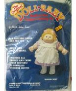 The Original Doll-Baby Clothing Kit by Martha Nelson Thomas - $2.63