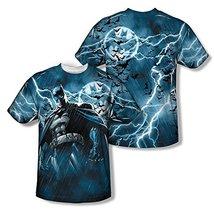 Simply Superheroes Mens batman stormy knight sublimation mens t shirt 2XL - $28.99