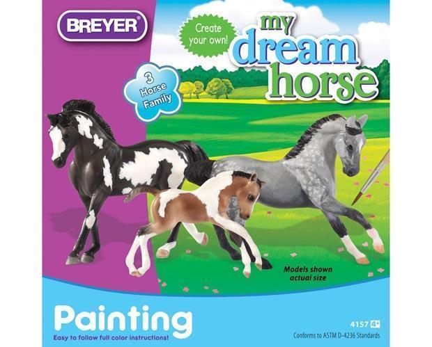 My dream horse horse family painting kit model breyer 950172 600x 2x