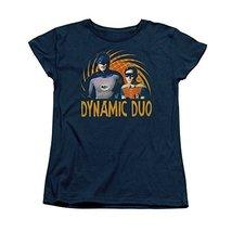 Simply Superheroes Womens batman classic 1966 tv dynamic duo womens t shirt S... - $21.99