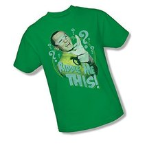 Simply Superheroes Mens batman classic 1966 tv riddle me this mens t shirt Small - $19.99