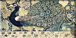 peacock Art Nouveau style Ceramic decorative fireplaces tile 3x6 Inches #7 - $7.50