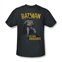 Simply Superheroes Mens batman classic 1966 tv caped crusader mens t shirt Me... - $19.99