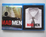 Mad Men - Season 1 & 2 (Blu-ray Disc, 3-Disc Sets- 6 discs total)