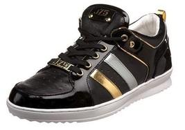 Jump J75 Fight Athleisure Size US 10.5 M (D) EU 44 Men's Low Top Sneaker Black