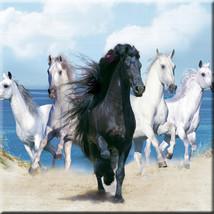 Horses Decorative 6 X 6 Inches Ceramic Wall Tile Horse Image #2 - $12.50