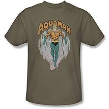 Simply Superheroes Mens aquaman from the depths t shirt Mens 2XL - $21.99
