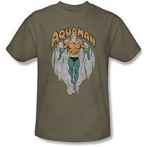 Simply Superheroes Mens aquaman from the depths t shirt Mens 3XL - $23.99