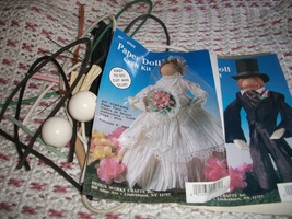 Paper Twist Bride & Groom Doll Kit - $10.00