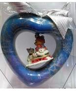 Cherished Teddies Ornament - Teddy on Sled with Dog - $8.99