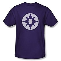Simply Superheroes Mens green lantern star sapphire logo mens t shirt Large - $19.99