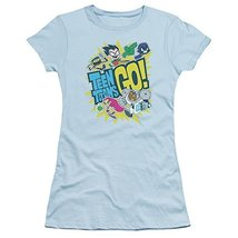 Simply Superheroes Womens teen titans go juniors womens t shirt Juniors XL - $27.99