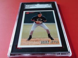 1993 Bowman Derek Jeter Rookie # 511 Sgc 88 !! - $44.99