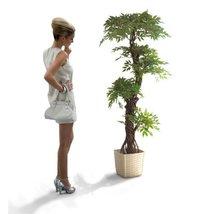 Premium Modern Beautiful Artificial Plants Trees, Large Japanese Fruticosa Tr... - $139.99