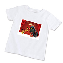 The Angry Birds Movie Unisex Children T-Shirt (Available in XS/S/M/L) - $14.99