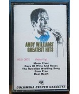ANDY WILLIAMS - Greatest Hits CASSETTE  - $5.76