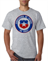 54096 Federation Of Chile Men's Soccer Team Classic Logo T-Shirt  - $10.99+