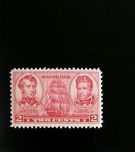1937 2c Decatur & Macdonough, U.S. Naval Officers Scott 791 Mint F/VF NH - $0.99