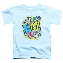 Simply Superheroes Mens teen titans go toddler kids youth t shirt Size 3T - $14.99