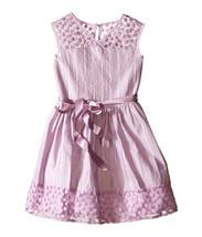 Us Angels - Daisy Lace Sleeveless Illusion Sweetheart Bodice w/ Full Skirt