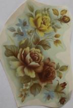 """5 Roses Waterslide Ceramic Decals 5.75"""" - Vintage - $6.50"""