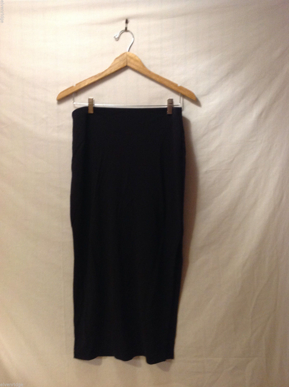 J. McLaughlin Women's Size M Skirt Maxi Length Stretchy Knit with Side Vent Slit