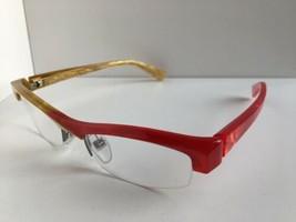 New ALAIN MIKLI AL0832 AL 0832 0003 48mm Red Yellow Junior Kids Eyeglasses Frame - $199.99