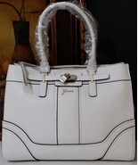 NWT GUESS Greyson Status Carryall White VG493023 - $99.99