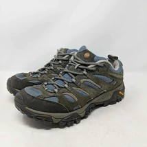 Merrell Womens Hiking Shoes Boots Gray Trail Low Top Lace Up Athletic Outdoors 7 - $23.75