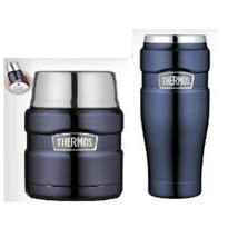 Thermos Insulated Tumbler & Food Jar Camping Sports Hiking Travel Coffee... - $39.99