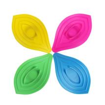 Ring Leaves Soap Box Anti-Slip Drain Clean Soap Dish Kitchen Sink Sponge... - $9.95