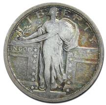 1917D Type 1 STANDING LIBERTY QUARTER COIN Lot # MZ 3005