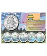 2014 America The Beautiful HOLOGRAM Quarters U.... - $235,18 MXN