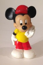 """Disney Vintage Playskool Baby 1982 Mickey Mouse Squeaker Toy 6"""" Tall - $7.72"""