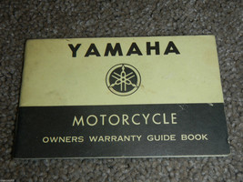 1973-1978 Yamaha Motorcycle Warranty Manual #2 Owner Owners Owner's Manual - $22.26