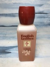 Vintage Dana English Leather Cologne 4oz - Mostly Full - $23.86