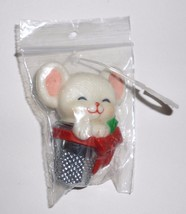 Hallmark Cards Holiday Christmas Mouse In A Thimble Pin - $19.99