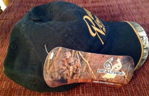 Strapback Buckle Hat Ball Cap Outdoor News Black New Camo Sportsmens Weekly