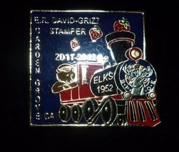 Garden Grove Elks Train Pin - $19.99