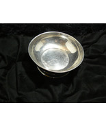 Vintage Garden Pewter Round Footed Bowl #418 - $9.89