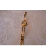 Vintage Carriage GoldTone Quartz Dress Ladies Wristwatch - $9.89