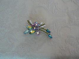 Elegant Gorgeous Vintage 11 W 30th ST, Inc Sparkley Rhinestones RARE Brooch - $118.79