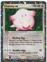 Pokemon Cards Chansey EX Ruby and Sapphire - $6.99