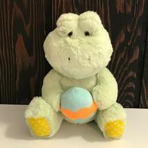 "Animal Adventure Frog with Easter Egg 9"" Plush Stuffed Animal 2017 - $18.69"