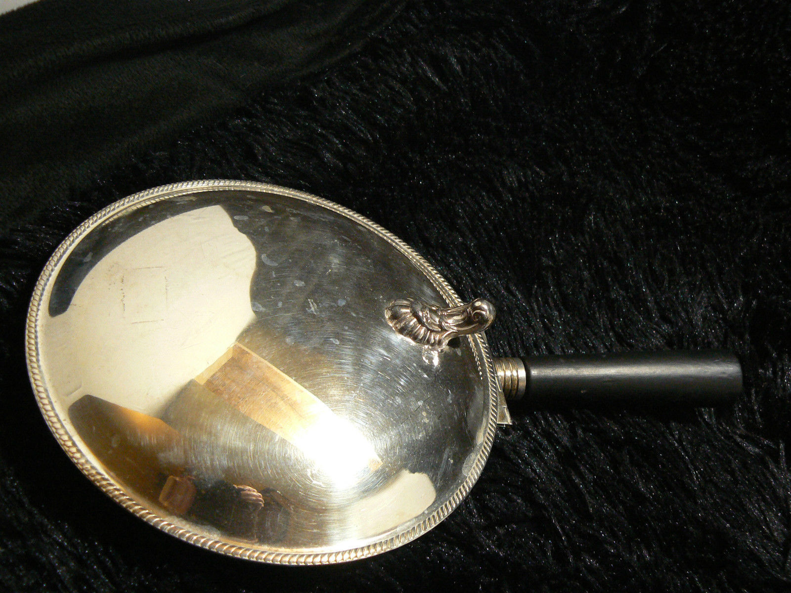 Antg/Vtg FB Rogers Silver Co Silverplate Silent Butler Ash Tray/Crumb Collector