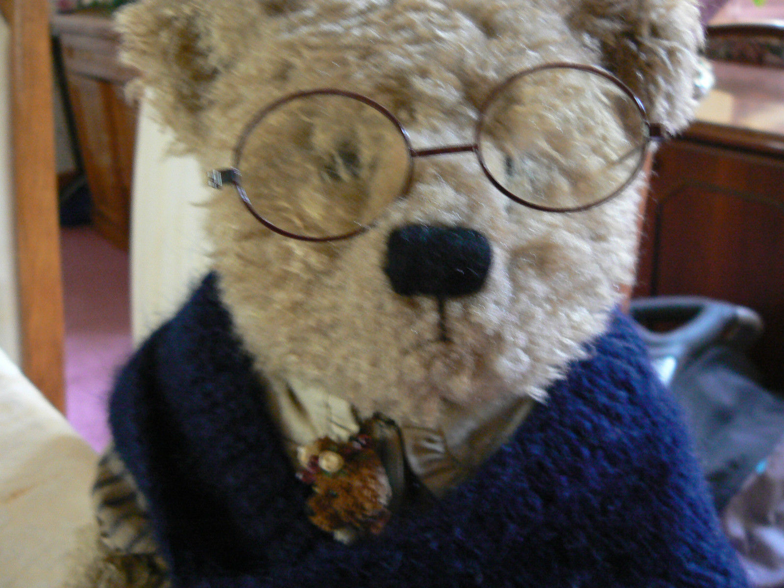 Vintage Boyds Collection Bear Grandmother Beatrice B. Beatrhugs Style # 99718V